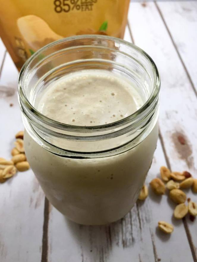 Low Carb, Low Fat, Sugar Free Peanut Butter Milkshake (THM-S)