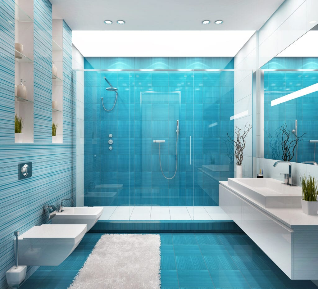 Selling Or Renovating Blue Bathrooms Like These Sell For More Bucks