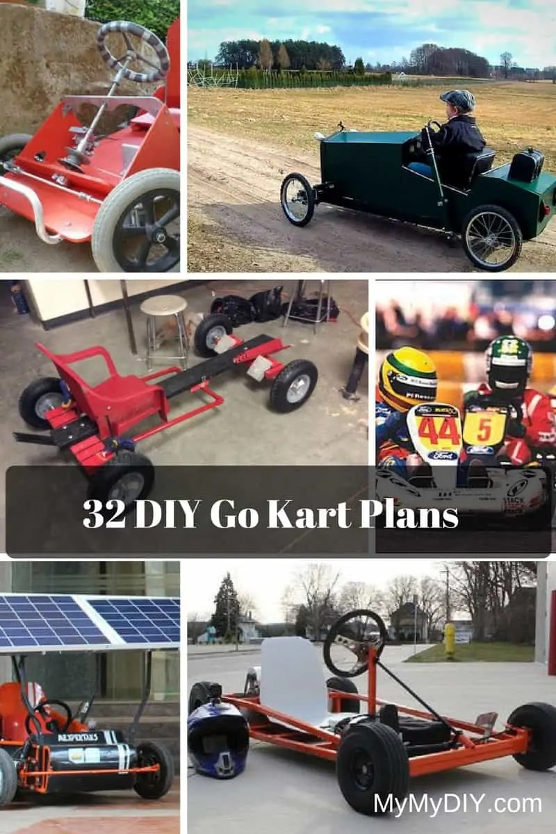 Kart Cross Buggy Build 32 Awesome Diy Go Kart Plans Mymydiy Inspiring Diy