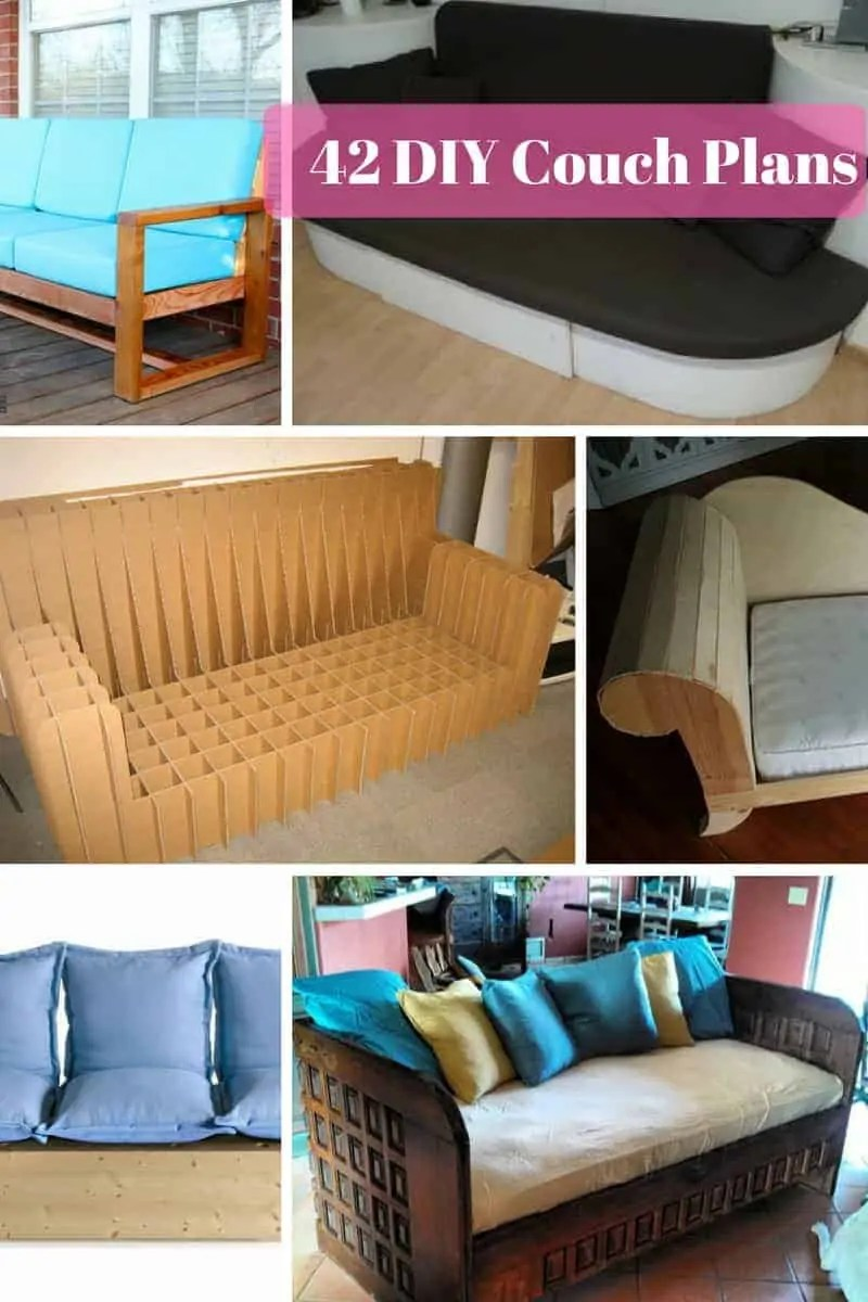 Next Sofa Measurements 42 Diy Sofa Plans Free Instructions Mymydiy Inspiring Diy