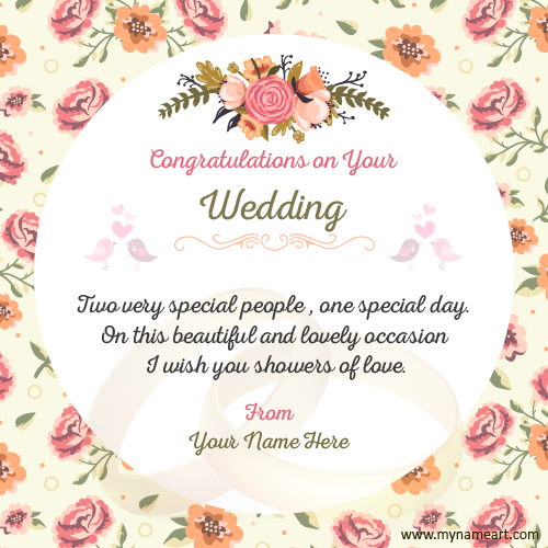 Make Wedding Congratulations Wishes Quotes Card wishes greeting card - congratulations for or on
