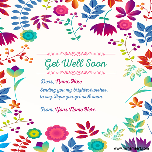 Get Well Soon Wishes Greeting Card Quotes wishes greeting card - get well soon card