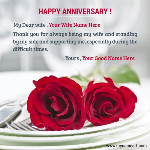 Heart Touching Wallpaper With Quotes In Hindi Anniversary Wishes With Name Editing Pic For Wife Wishes