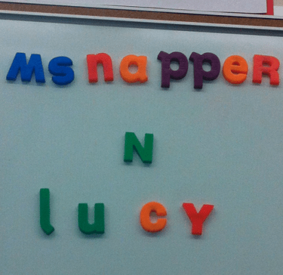 ms napper n lucy