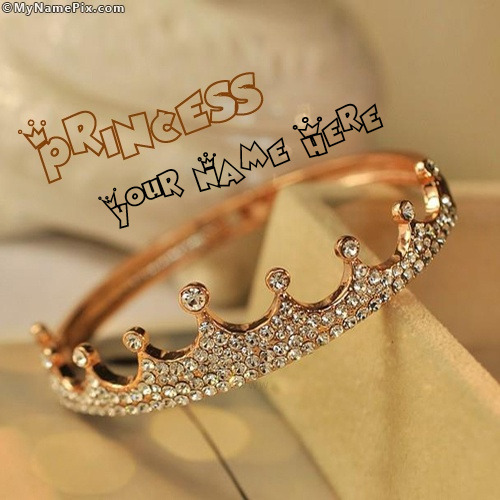 Pretty Quotes Wallpapers Princess Crown Image With Name