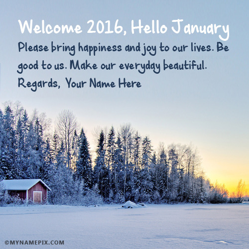 Cute Wallpaper Images For Dp Welcome 2017 Hello January With Name