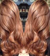 Auburn Hair Color With Highlights - Hairs Picture Gallery