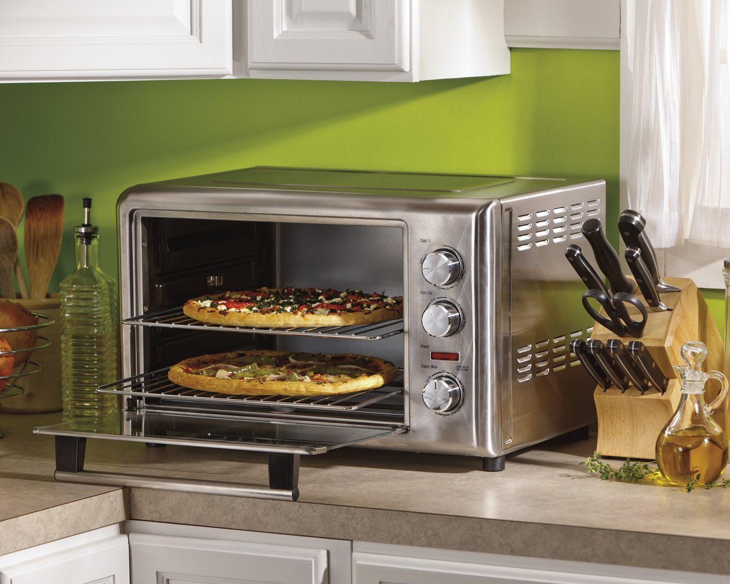 Oster Convection Countertop Oven Reviews Top 10 Best Countertop Ovens 2018 Review