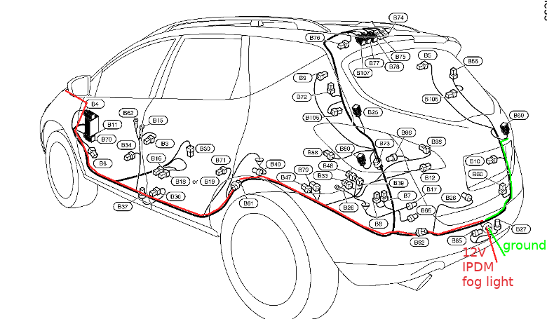 nissan pathfinder trailer wiring harness or