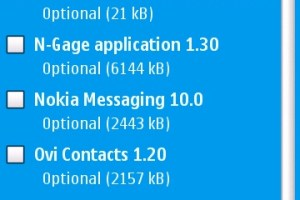 Applications: Whole slew of updates available for your Nokia N97! N-Gage – Ovi Maps 3.1 – C: Phone memory fix!