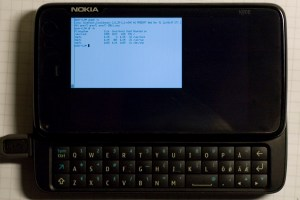 Intel and Nokia's MeeGo OS available for the Nokia N900.
