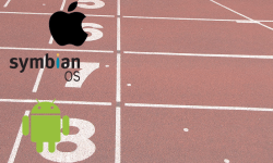 Is there a finish line to this race? And why don't Nokia/Symbian have a catchy icon for their logo?