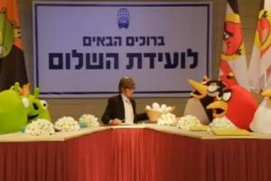 Video: Momentous Angry Birds Peace Treaty Skit. End of the feud?