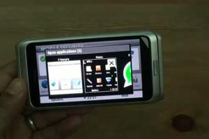 Video: Nokia E7 Multitasking and F-Secure (with remote wipe for stolen/lost devices)