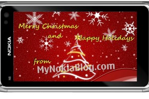 Merry Christmas and Happy Holidays from MyNokiaBlog.com