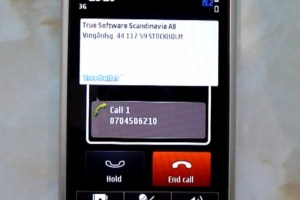 Video: TrueCaller Super Caller ID App demoed on Nokia E7