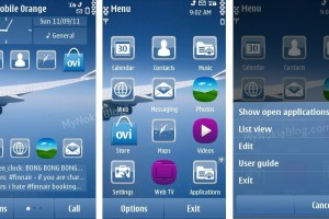 Themes: Sky by Hank – Free at Ovi Store
