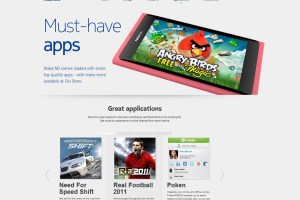 NFS, Sims 3 and Real Football 2011 for Nokia N9