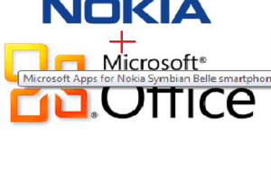Microsoft Office Apps to come to Symbian Belle.