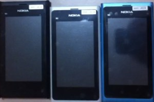 Video: Nokia N9 clones (white, blue and black)