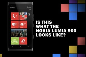 Is this what the Nokia Lumia 900 looks like? Mock up…