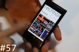 Lumiappaday #57: TED demoed on the Nokia Lumia 800 (TEDTalks)