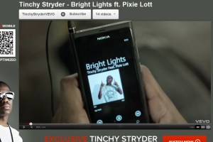 Video: Nokia Lumia 800 and Nokia Purity in Tinchy Stryder/Pixie Lott Music video.