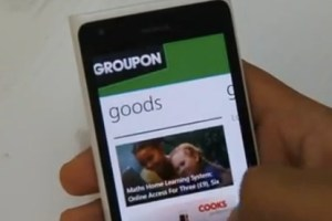 Lumiappaday #279: Groupon demoed on the Nokia Lumia 900