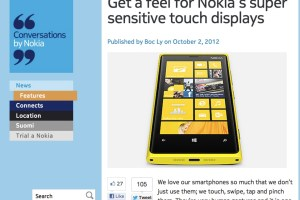 NokConv: Nokia explains the Super Sensitive Screen
