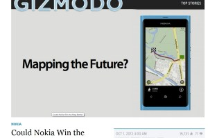 Gizmodo: Could Nokia Win the Map Battle?