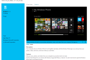 Windows Phone Connector App (Zune Replacement) Released on Windows 8 Store Ahead of Today's Launch