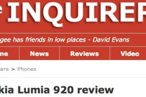 The Enquirer's Nokia Lumia 920 Review – 9/10