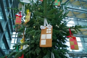 Nokia's Phablet Lumia Tree At Nokia House, Espoo :p