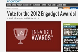 Voting open in 2012 Engadget Awards! (Vote for the Nokia Lumia 920!)