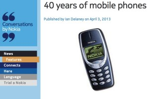 40 years of mobile phones, 9 out of 10 best selling phones of all time is a Nokia