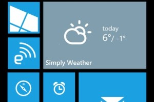 WP8 UI concepts: folders, 3/4 length tiles, menu notifications…