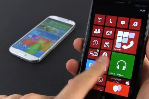Video: Nokia Lumia 920 vs Samsung Galaxy SIV