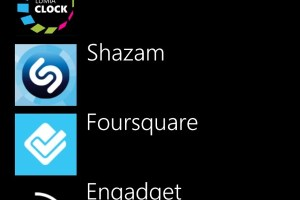 Lumiappdates: Foursquare, Shazam, Engadget, Lomogram and Lumia Clock