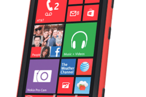 Red Lumia 1020 Pops Up in Renders