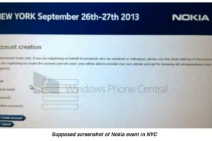 Nokia Event taking place September 26 2013? Nokia World?! Tablet? Phablet? Both?