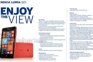 Leakyleak: Lumia 625 Revealed: 4.7″ WVGA resolution, 2000 mAh battery, 5 Mp camera (Updated With More Images)