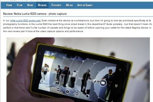 Steve Litchfield AAWP Reviews the Nokia Lumia 1020 camera