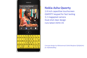 My Dream Nokia #99: QWERTY Asha Touch