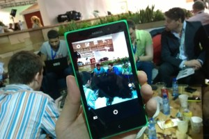 Video: Nokia X/XL Camera UI demo #Android
