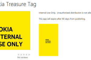 Nokia Treasure Tag App Tested Internally; MWC Release?