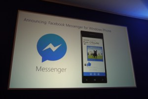 Official Facebook Messenger App Coming Soon to WP8