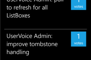 #WPDev: Third Party UserVoice Library and Admin App Released in Beta