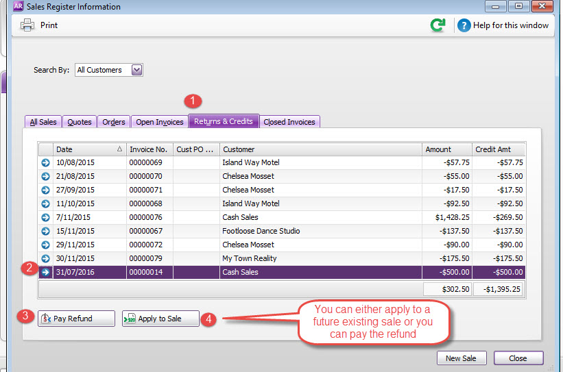 Adjustment notes for invoices - MYOB Community - sales invoices