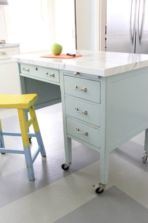 Medium Of Kitchen Island Desk