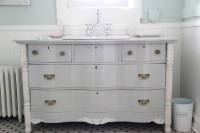 MONDAY MAKEOVER  Bowfront Dresser made into MASTER ...